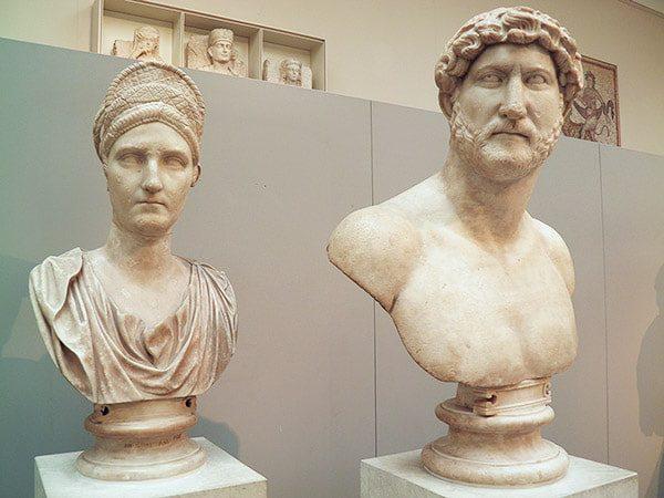 Antonius and Emperor Hadrian